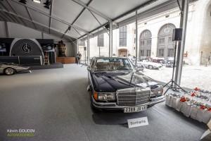 Chantilly Arts & Élégance 2015 : Vente Bonhams - Mercdes 450 SEL 6.9L ex-Claude François