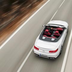 Salon de Francfort 2015 : Mercedes AMG S 63 Cabriolet