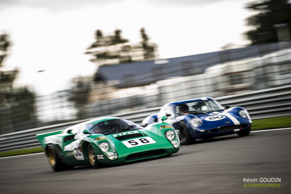Spa Six Hours 2015 - FIA Masters Historic Sports Car Championship