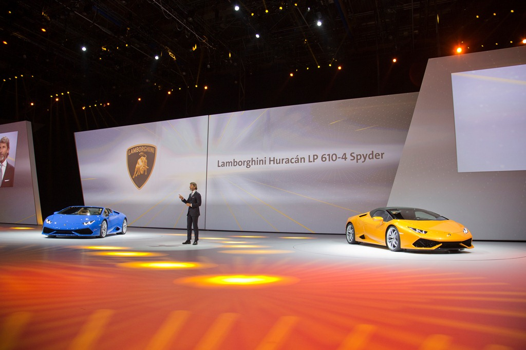 Lamborghini Huracan Spyder LP 610-4