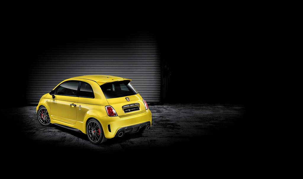 Abarth 695 Record vue arriere