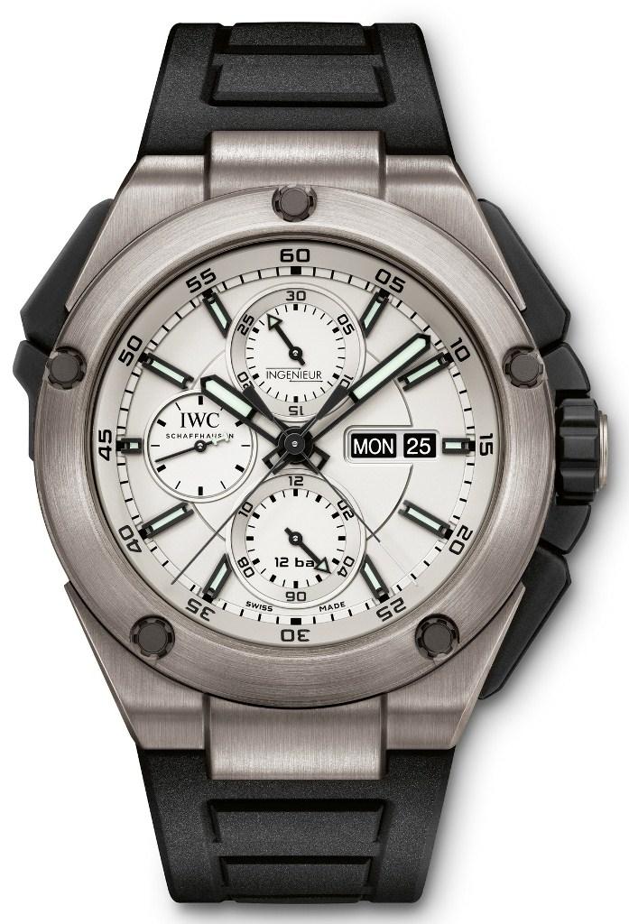 IWC Ingenieur Double chronographe Titane