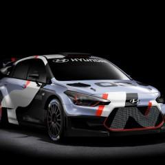 Salon de Francfort 2015 : Hyundai i20 WRC 2016