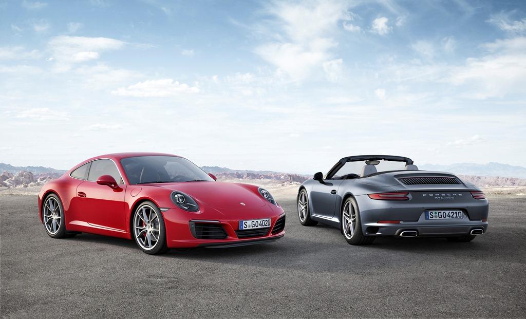 Porsche 911 restylée (991)