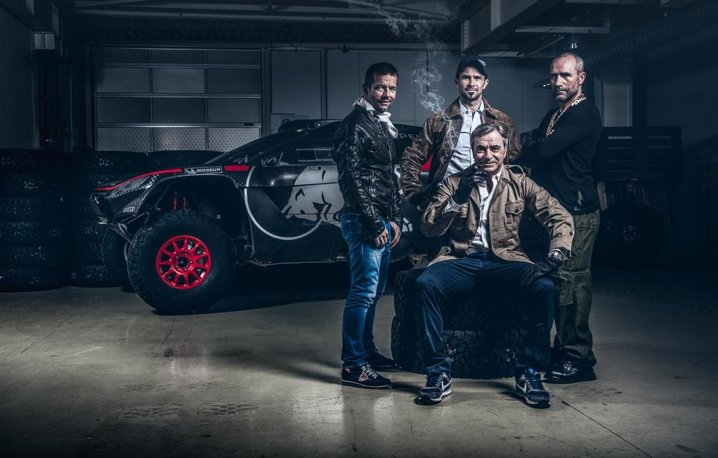 Peugeot Dakar 2016 dream team