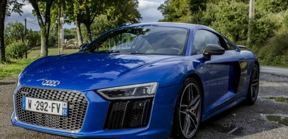 Essai Audi R8 V10 Plus : Les anneaux du taureau…