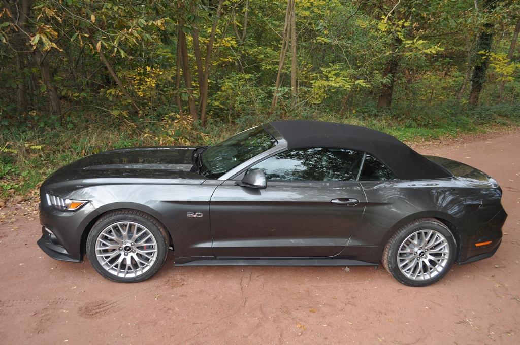 Essai Ford Mustang Gt V8 5 0l Cabriolet Mon Petit Poney