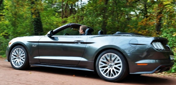 Essai Ford Mustang GT V8 5.0L cabriolet : Mon petit Poney…