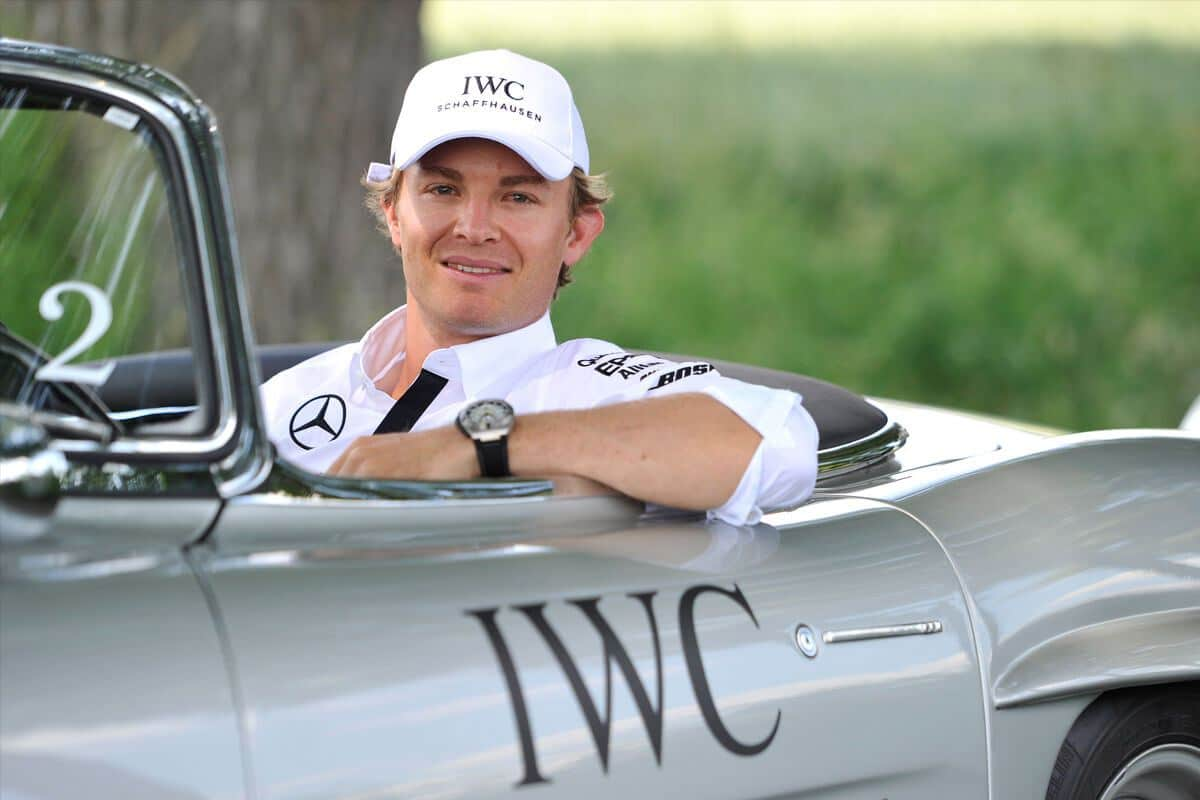 "IWC Ingenieur Automatic Edition ""Tribute to Nico Rosberg"" Only Watch 2015"