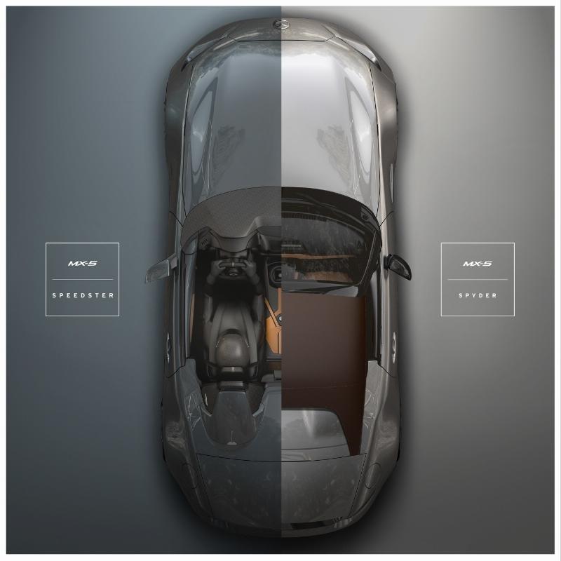 Mazda MX-5 Spyder et Speedster - Sema Show 2015