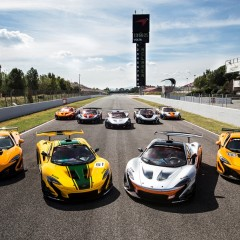 Le programme McLaren P1 GTR a débuté à Barcelone