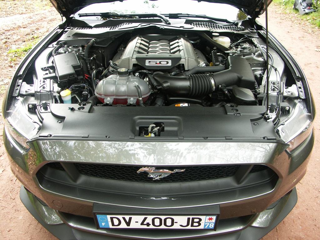 Ford Mustang GT V8 5.0L cabriolet