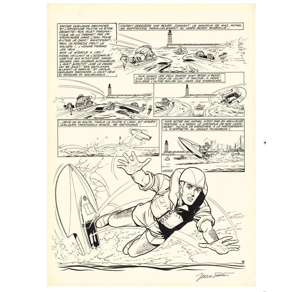 Le Pilote Sans Visage - Réédition du tome 2 de Michel Vaillant en noir et blanc (2015)