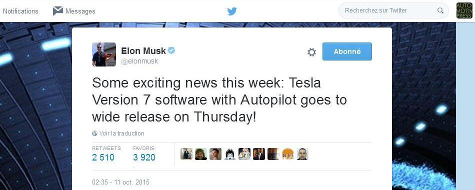Tesla Autopilot v7 - Elon Musk