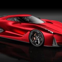Nissan Concept 2020 Vision Gran Turismo : Coup de rouge au Salon de Tokyo 2015