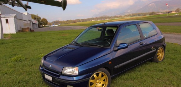 Essai classic : Renault Clio Williams Swiss Champion 1996