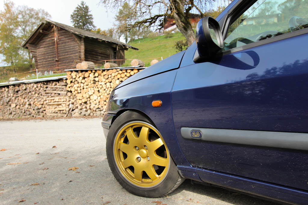 Renault Clio Williams Swiss Champion 1996