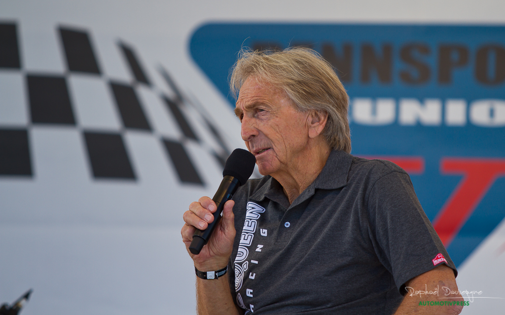 Porsche Rennsport Reunion V 2015 - Derek Bell