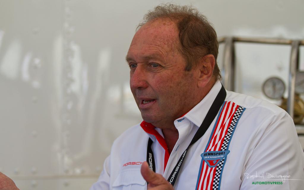Porsche Rennsport Reunion V 2015 - Jochen Mass