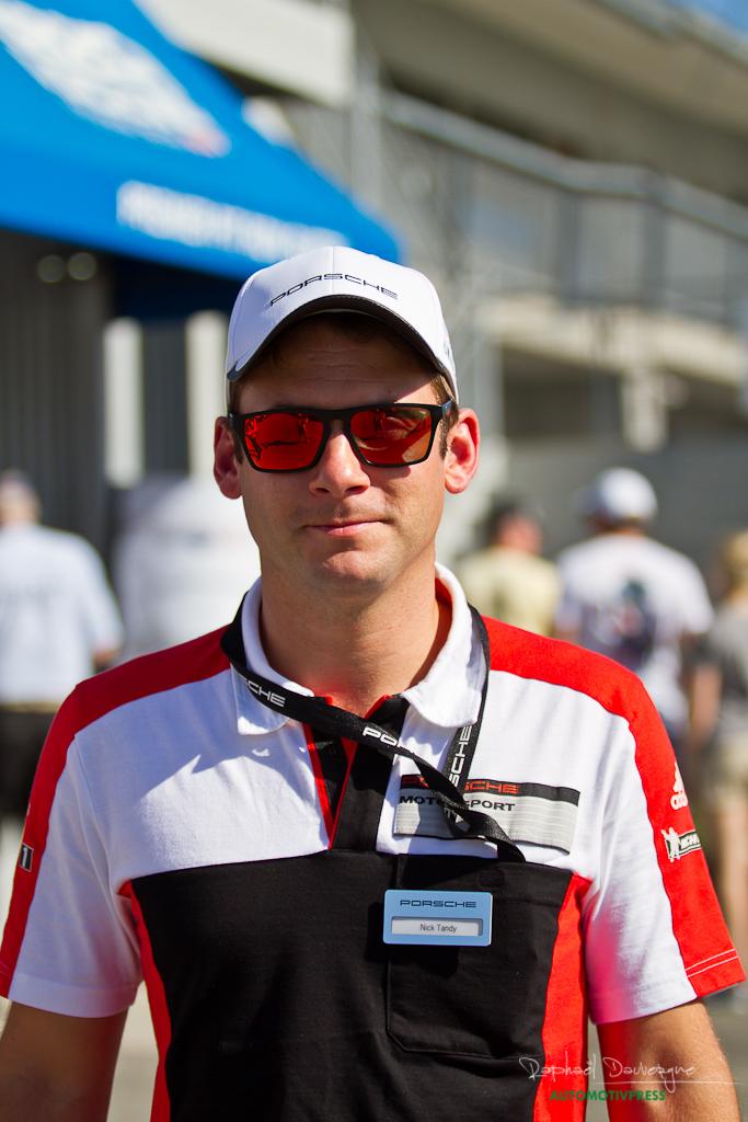 Porsche Rennsport Reunion V 2015 - Nick Tandy