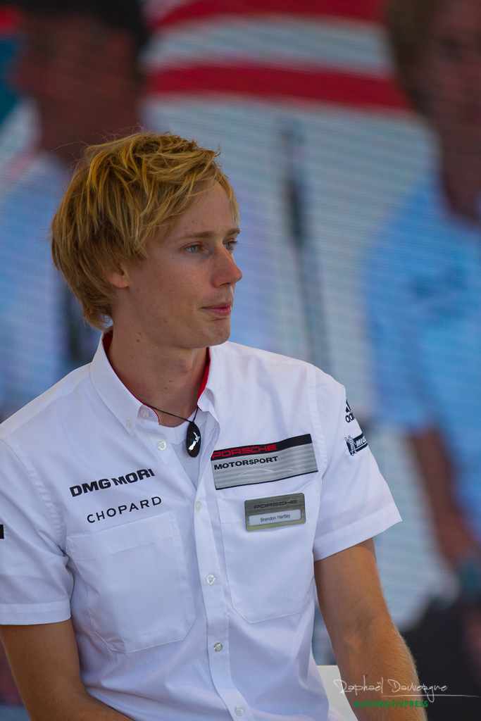 Porsche Rennsport Reunion V 2015 - Brendon Hartley