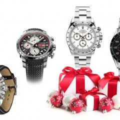 Noël 2015 : Notre sélection de montres liées à l'automobile (+5000 €)