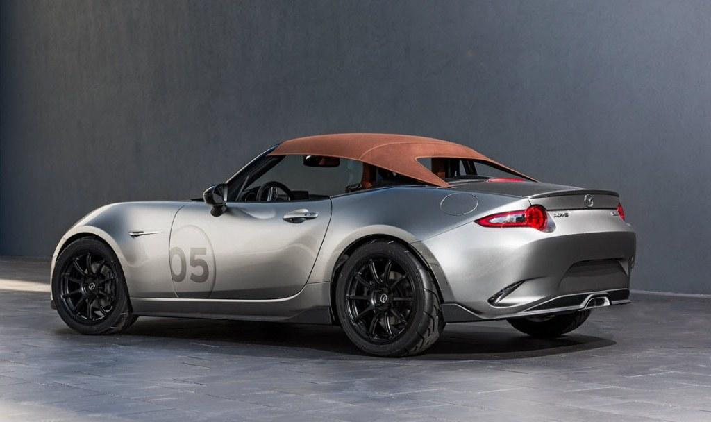 MX-5 Spyder Concept - SEMA Show 2015