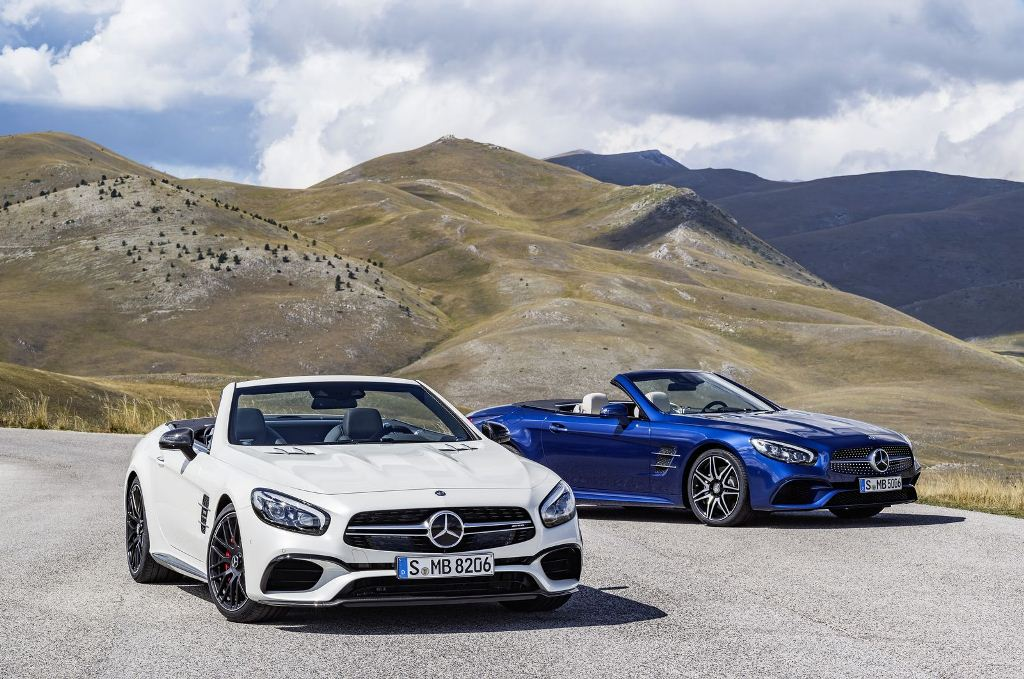 Mercedes SL 2015 (Type R 231) AMG