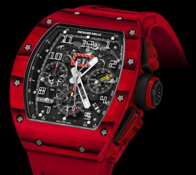 Richard Mille RM 011 Quartz TPT rouge