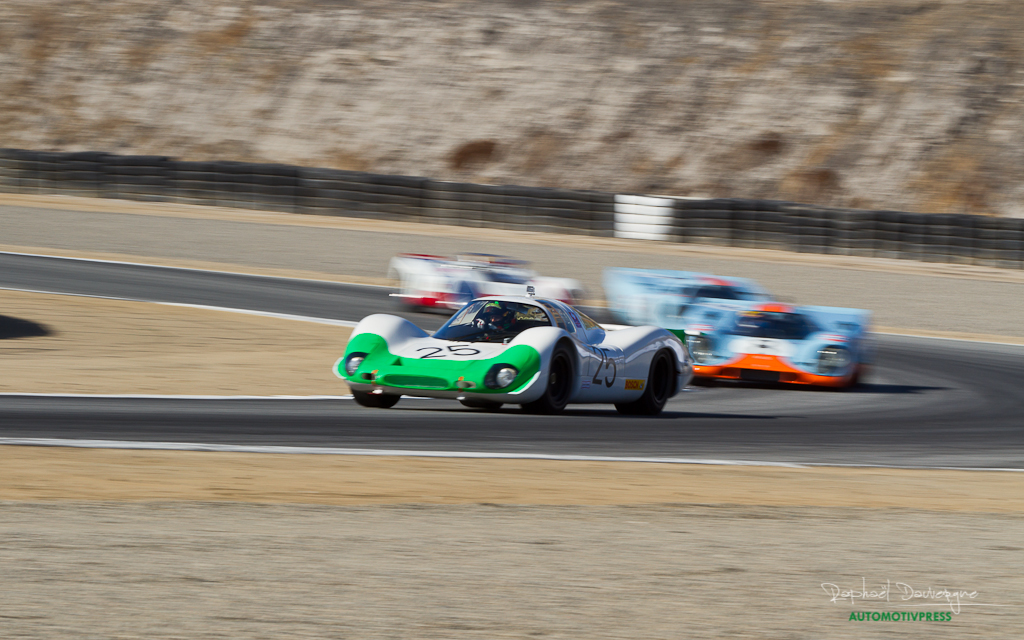 Rennsport Reunion V - Weissach Cup - Porsche 908 LH