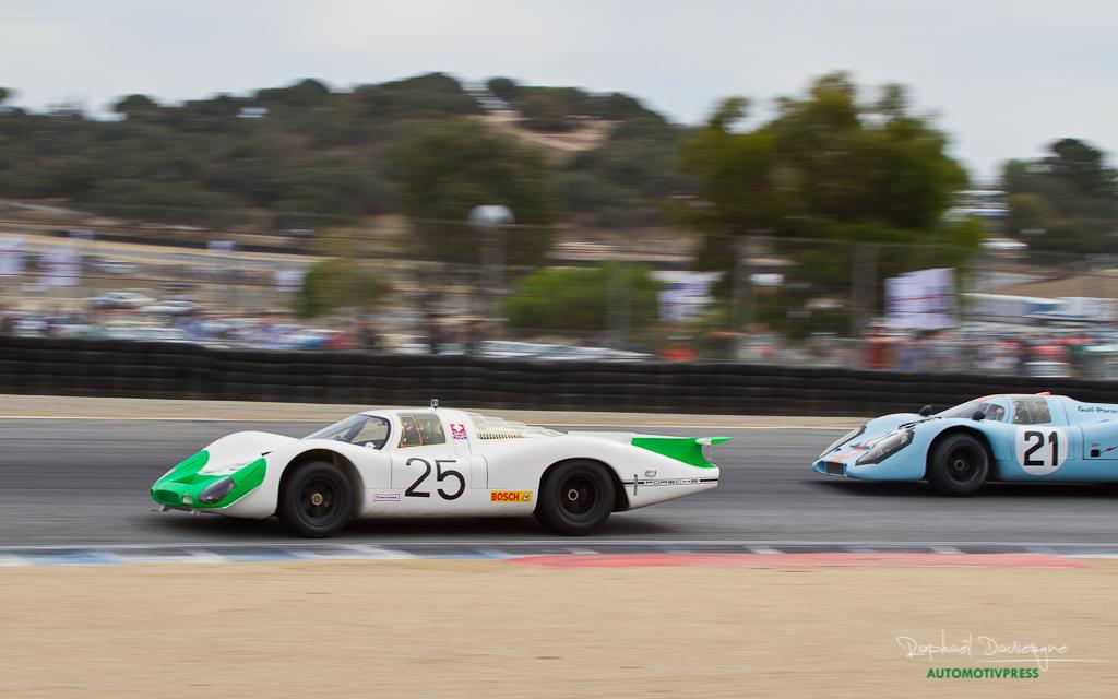 Rennsport Reunion V - Weissach Cup - Porsche 908 et 917