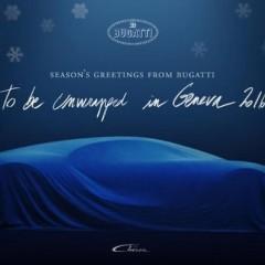 Bugatti vous souhaite de joyeuses fêtes avec une Chiron en nuisette