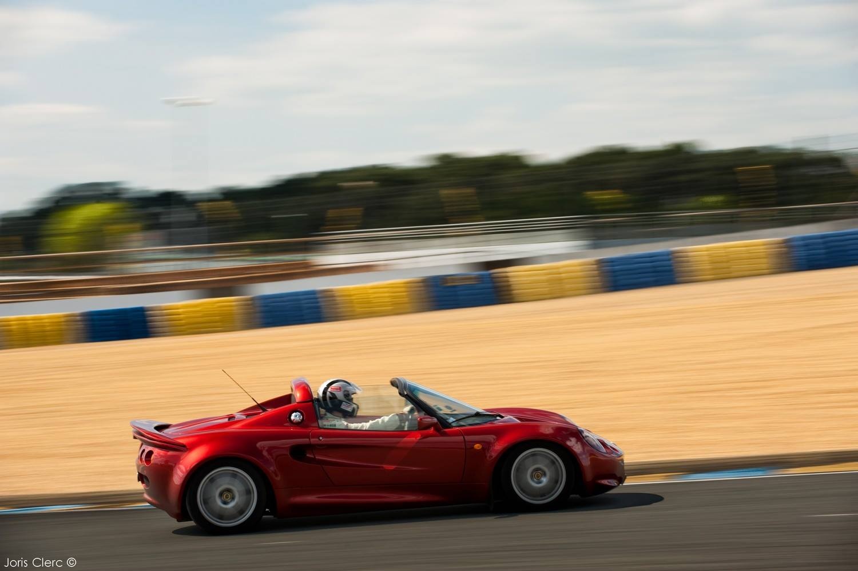 Club Lotus France - Le Mans Bugatti - 2014 - Lotus Elise S1 111S - Joris Clerc