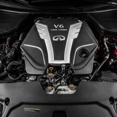 Infiniti Q60 : Lancement à Detroit avec un nouveau V6 bi-turbo