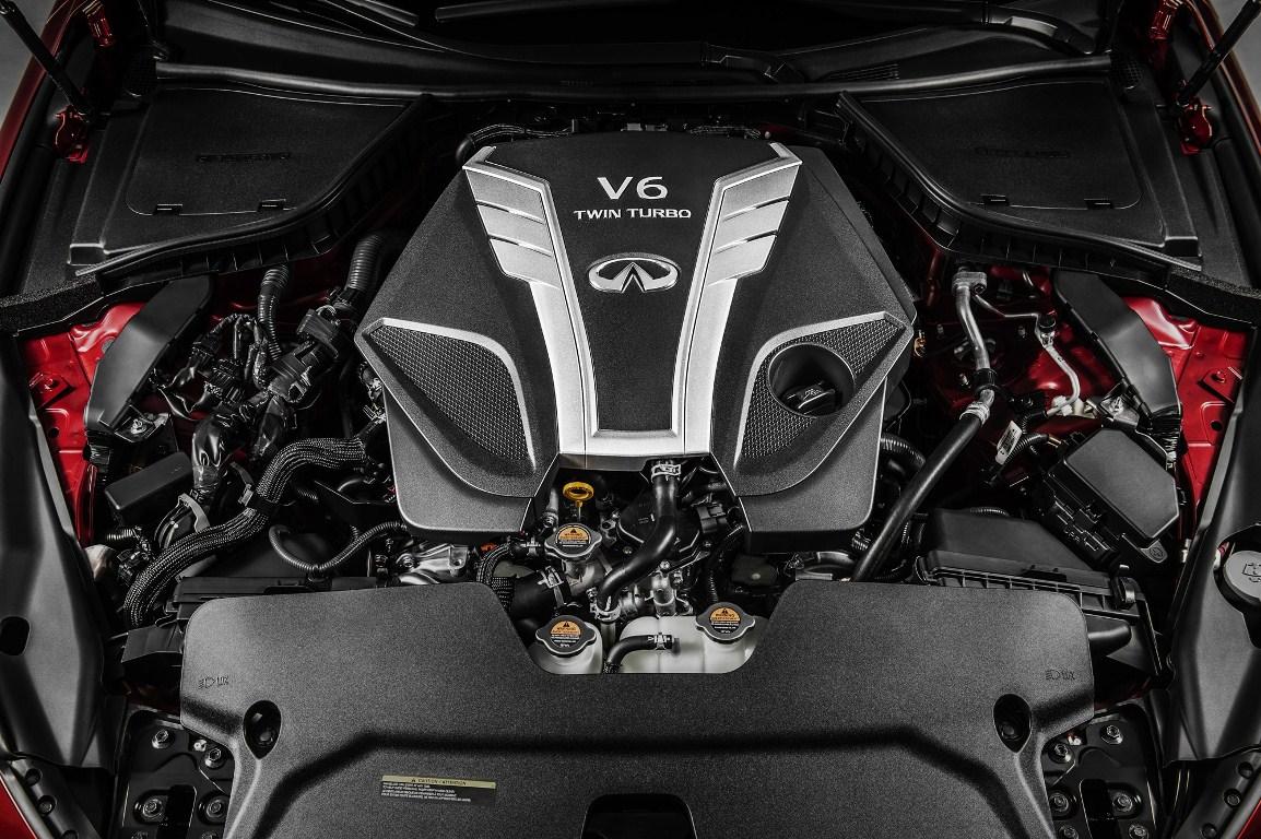 Infiniti V6 3.0L bi-turbo (VR)