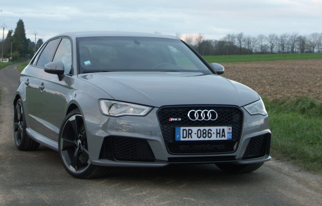 Essai Audi Rs3 Double Face