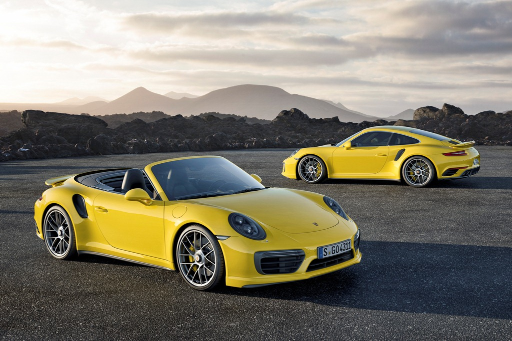 Porsche 911 Turbo S - Type 991 2016