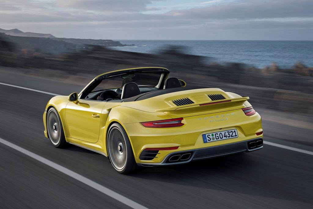 Porsche 911 Turbo S - Type 991 2016