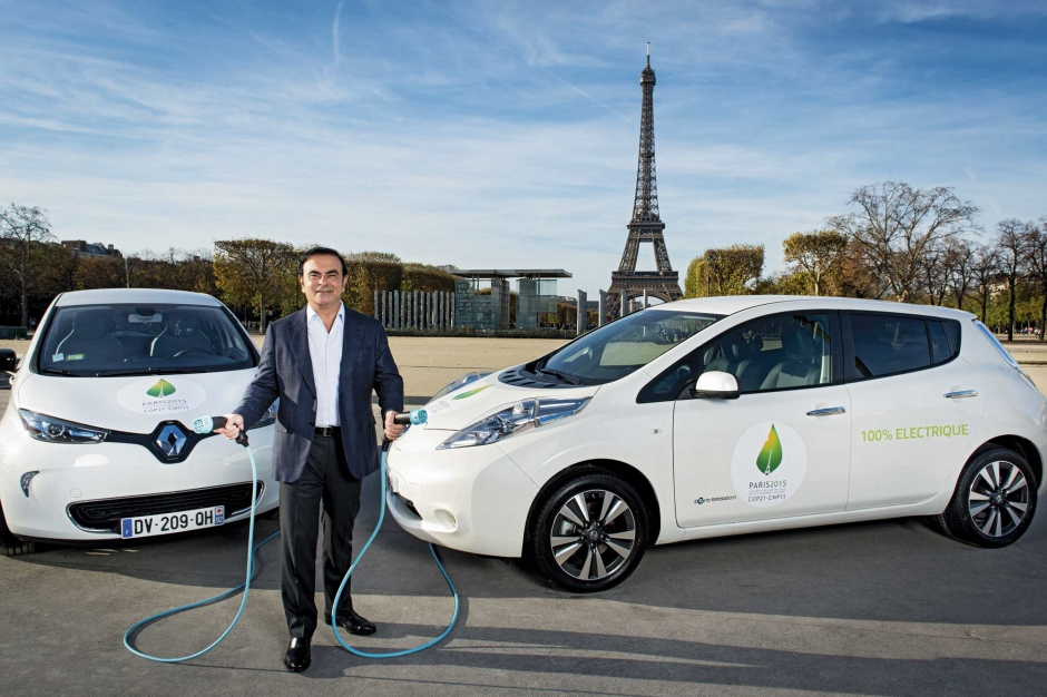 Renault Zoe Nissan Leaf - C. Ghosn
