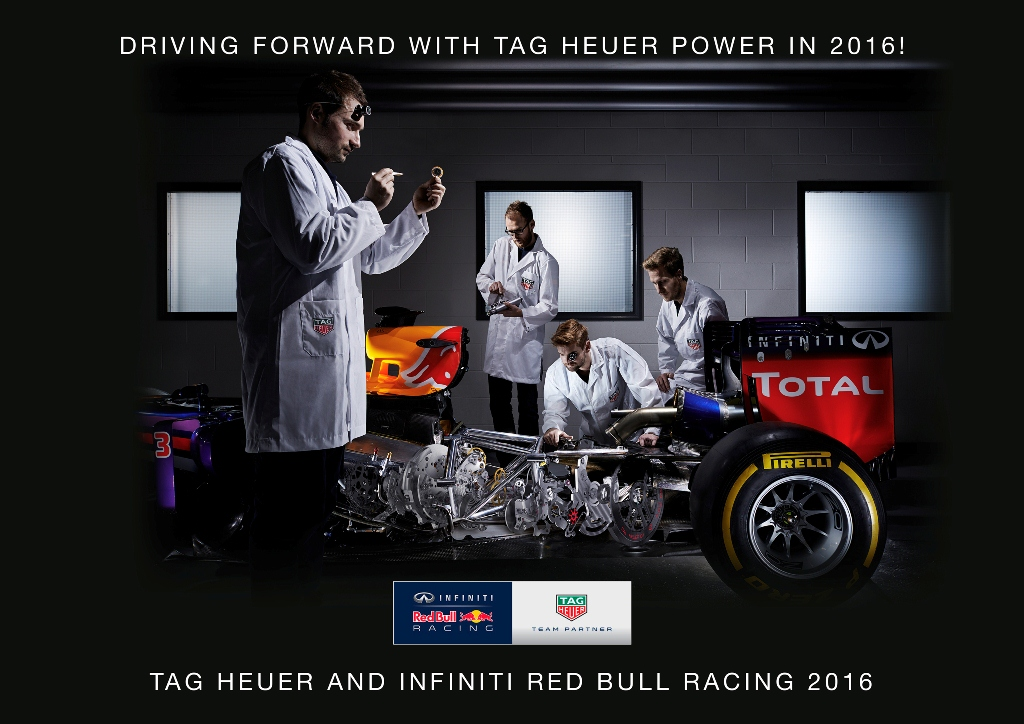 TAG Heuer Red Bull Racing Formule 1 2016