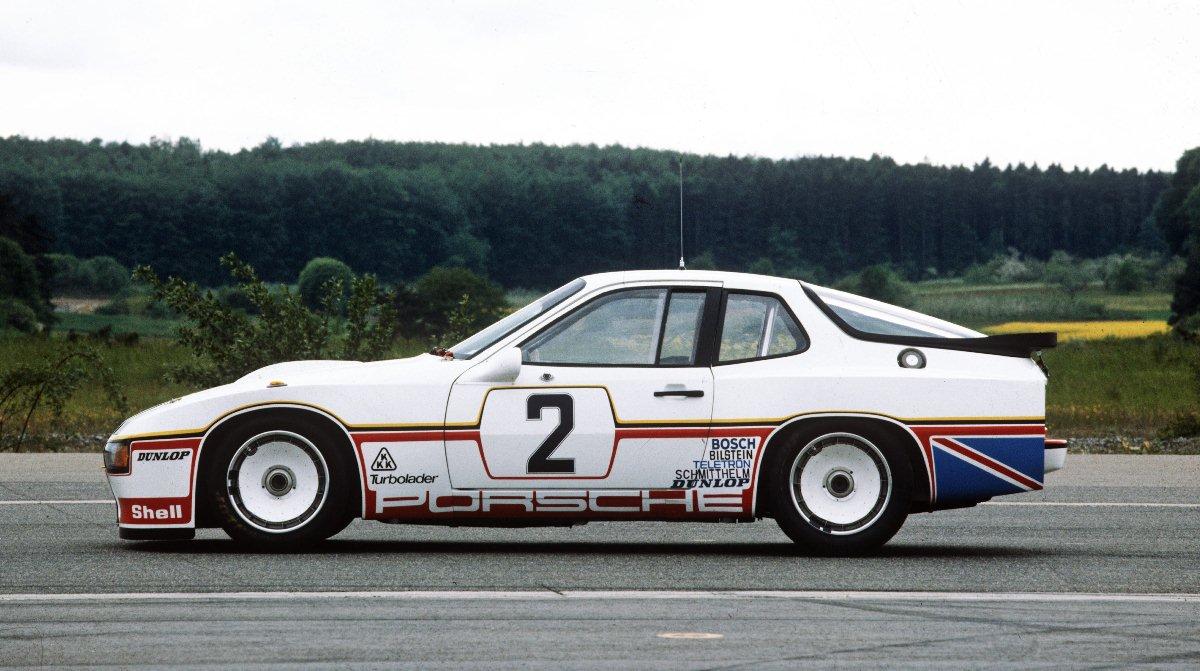 Porsche 924 Carrera GT n°2 - 24 Heures du Mans 1980