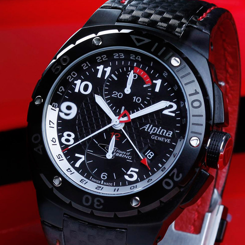 Alpina 12 Hours of Sebring Automatic Chrono GMT