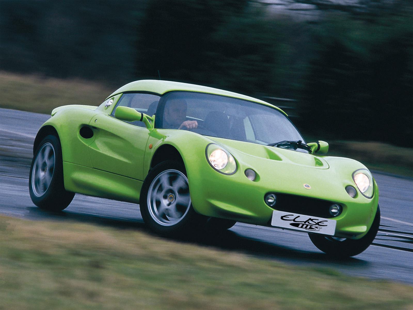 Lotus Elise S1 111S Scandal Green