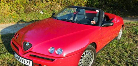 Essai Classic : Alfa Romeo Spider 2.0L Twinspark 1995