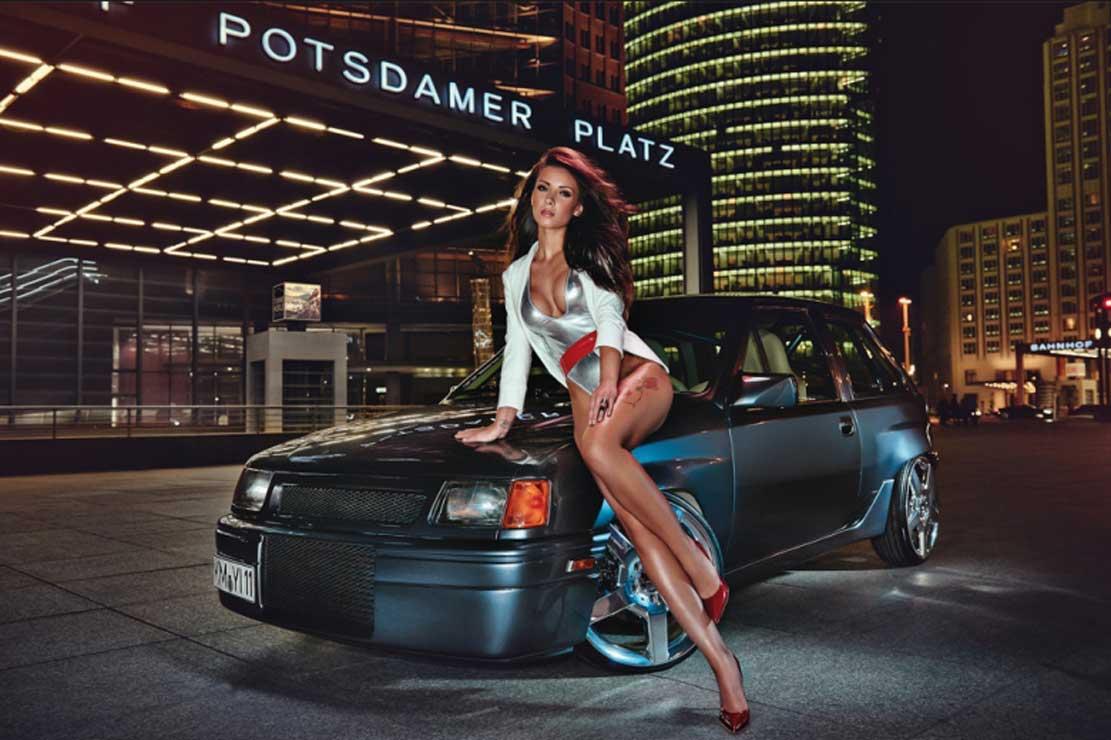 Calendrier Miss Tuning 2016 - Liana Günter / Max Seam