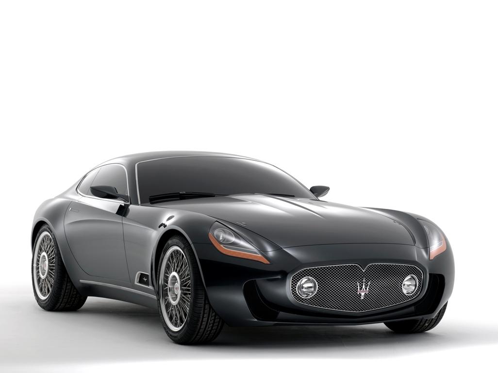 A8GCS Berlinetta Touring Concept - Touring Superleggera