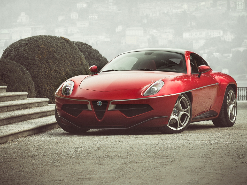 Alfa Romeo Disco Volante - Touring Superleggera