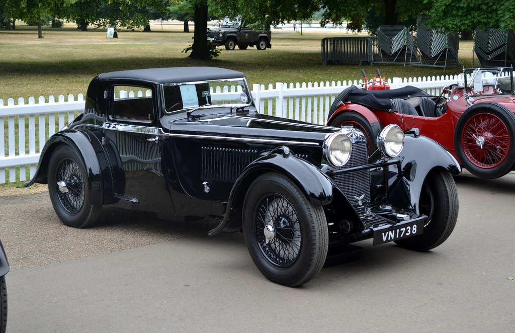 Aston Martin Headlam Coupé 1930