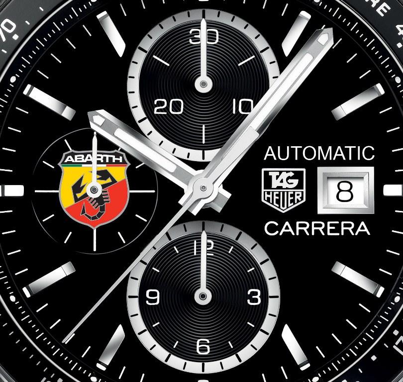 TAG Heuer Carrera Chronographe Automatique Abarth