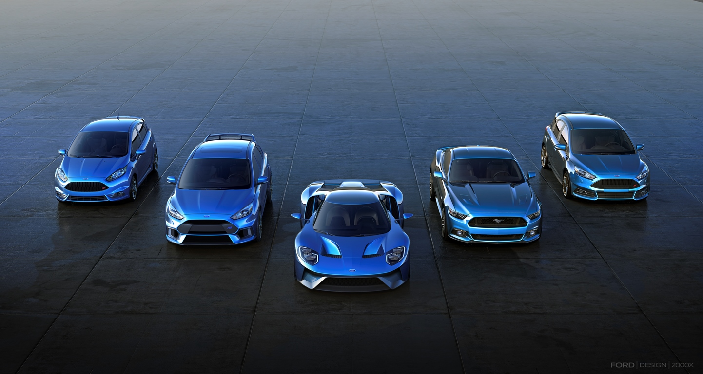 Ford Performance - Fiesta ST, Focus RS, GT 2016, Mustang, Focus ST